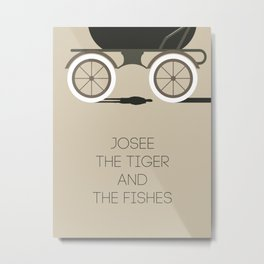 Josee, The Tiger And The Fish Metal Print