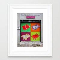 korea Framed Art Prints featuring Seoul, Korea by Kimberly Vogel Travel Photographer