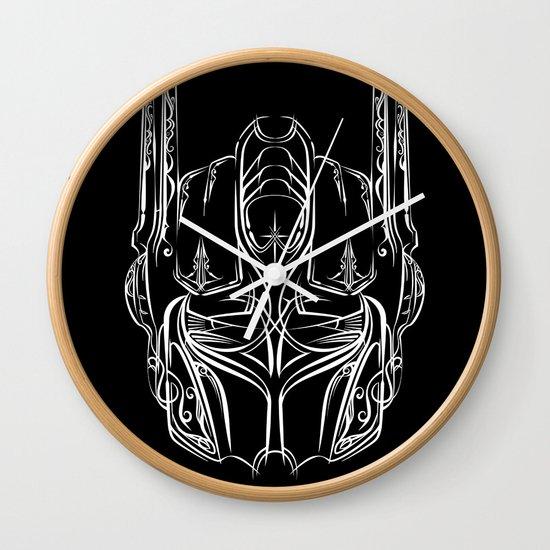Pinstripe Prime Wall Clock