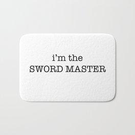 sword master Bath Mat