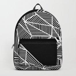B Rays Geo BW Backpack