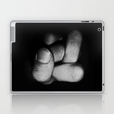Tangled fist Laptop & iPad Skin