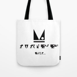 SIMPLE PATTERN_ITS MONDAY Tote Bag