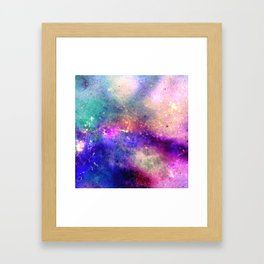 Stardust Groves Framed Art Print