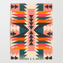 Colorful ethnic decoration Poster