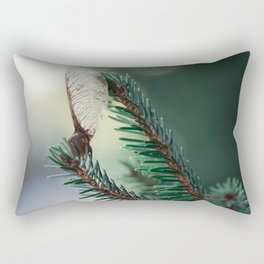 Stand there tall. Rectangular Pillow