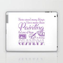 Painting Grandma Laptop & iPad Skin