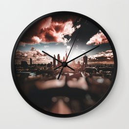 london skyline Wall Clock