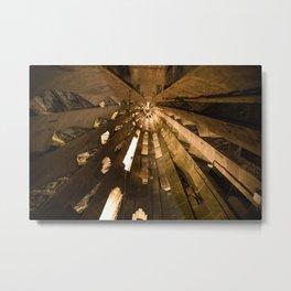 Spiraling Tower Metal Print