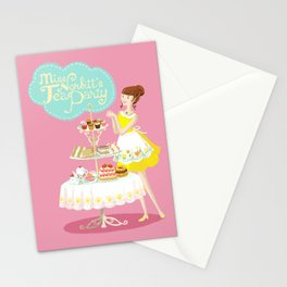 Miss Norbitt's Tea Party Stationery Cards
