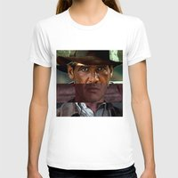 indiana jones T-shirts featuring Indiana Jones Saga by Chris Watts Art