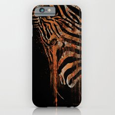 Zebra Mood iPhone 6s Slim Case