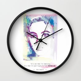 ...Another way... Wall Clock
