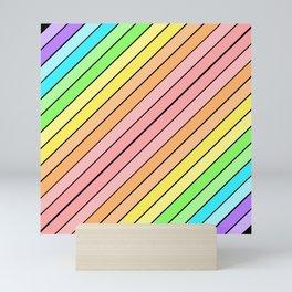 Rainbow Sherbert 2 Mini Art Print
