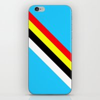 rave iPhone & iPod Skins featuring Rave by Naked N Pieces