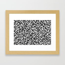 Bilinear Interpolation Framed Art Print