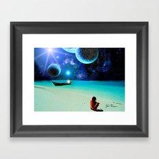 Another world Paradise 2 Framed Art Print