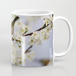 A Bird Perching on a Twig Coffee Mug