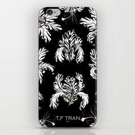 T.F TRAN ZEBRA FLORALS iPhone Skin