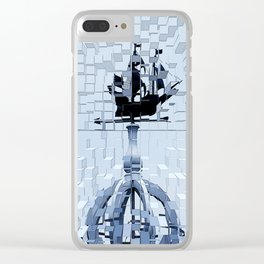 Naval Blockade Clear iPhone Case