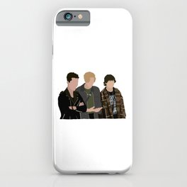Reggie, Alex and Luke from Julie and the phantoms iPhone Case