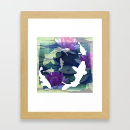 English Garden Life Framed Art Print