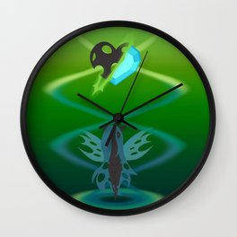 Magic Circle: Chrysalis Wall Clock
