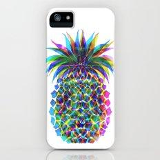 Pineapple CMYK Slim Case iPhone (5, 5s)