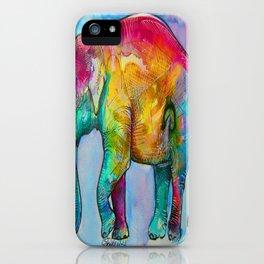 Layla The Elephant iPhone Case