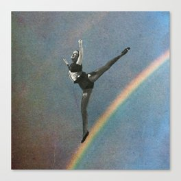 flying dance 2 Canvas Print