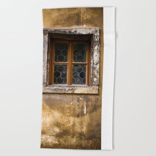 Mysterious Window II Beach Towel