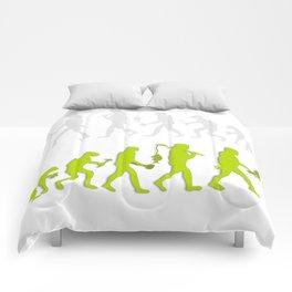 Evolution of Tennis Species Comforters