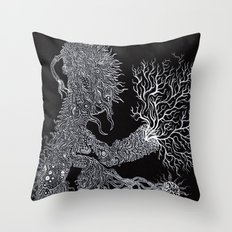 Life of Oceans: The Sea Dragon Throw Pillow