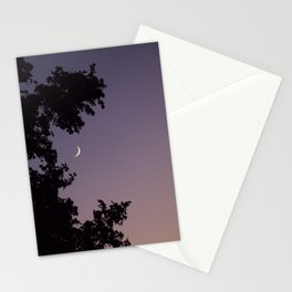 Smile Moon Stationery Cards