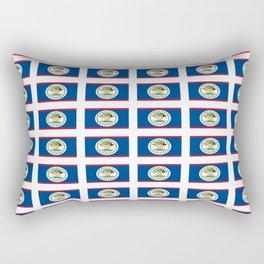 flag of belize 2 -Belice, Belizean,Belize City,beliceno,Belmopan Rectangular Pillow