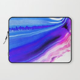 Abstract Agate Blue Laptop Sleeve