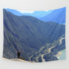 The Boss of the Rocks Wall Tapestry