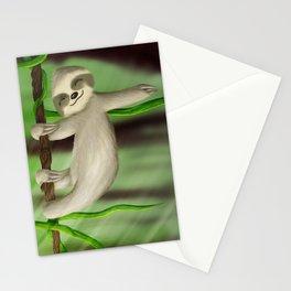 Just slothin' Stationery Cards