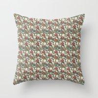 internet Throw Pillows featuring Internet Wallpaper by Matt Hunsberger