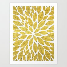 Petal Burst #25 Art Print