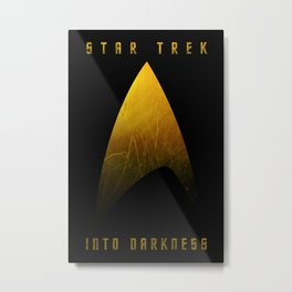 Star Trek Into Darkness (Captain) Metal Print