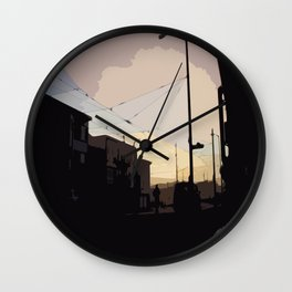 Sunset, San Francisco  Wall Clock