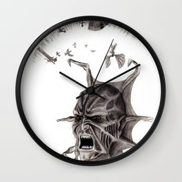jeepers creepers Wall Clock