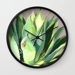 Agave Parrasana Wall Clock