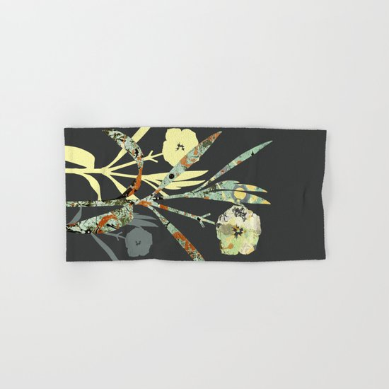 Floral Decor III Hand & Bath Towel