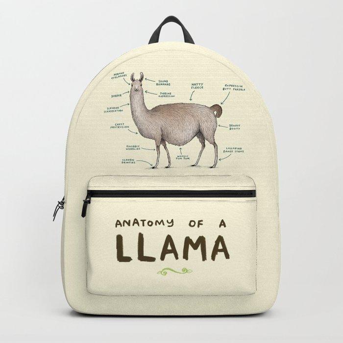 Anatomy of a Llama Rucksack
