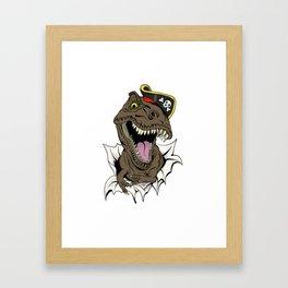 T-Rex - Imma Pirate Framed Art Print