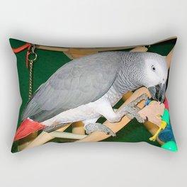 Doobie the parrot Rectangular Pillow