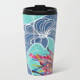 Dolphin Metal Travel Mug