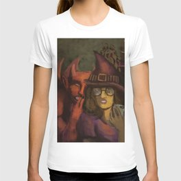 witch and demon T-shirt